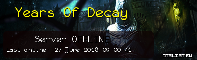Years Of Decay