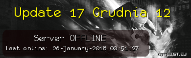Update 17 Grudnia 12