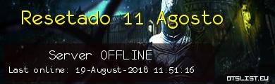 Resetado 11 Agosto