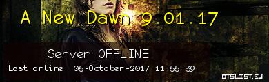 A New Dawn 9.01.17