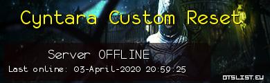 Cyntara Custom Reset