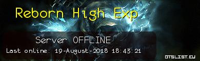 Reborn High Exp