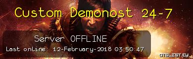 Custom Demonost 24-7