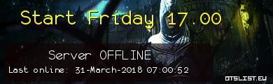 Start Friday 17.00