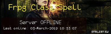 Frpg Class Spell