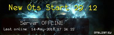 New Ots Start 29.12