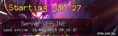 Starting Jan 27.