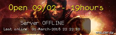 Open 09/02 - 19hours
