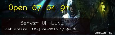 Open 07.04 9h