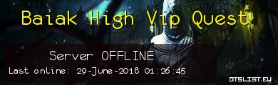 Baiak High Vip Quest
