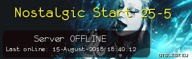 Nostalgic Start 25-5
