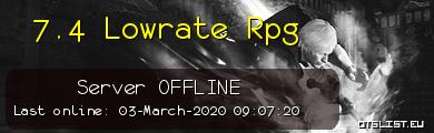 7.4 Lowrate Rpg