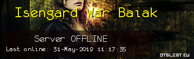 Isengard War Baiak