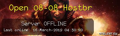 Open 08-08 Hostbr