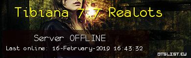 Tibiana 7.7 Realots