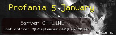 Profania 5 January