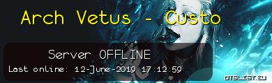 Arch Vetus - Custo