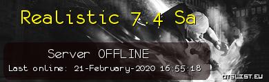 Realistic 7.4 Sa