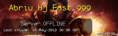 Abriu Hj Fast 999