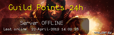 Guild Points 24h