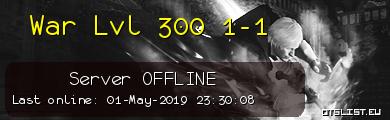 War Lvl 300 1-1
