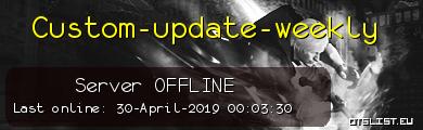 Custom-update-weekly