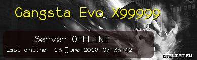 Gangsta Evo X99999