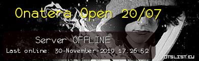 Onatera Open 20/07