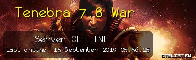 Tenebra 7.8 War