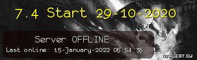 7.4 Start 29-10-2020