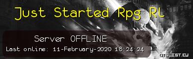Just Started Rpg Rl