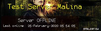Test Server Malina
