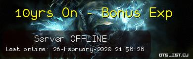 10yrs On - Bonus Exp