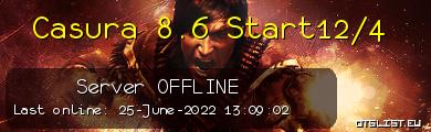 Casura 8.6 Start12/4