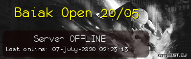 Baiak Open 20/05