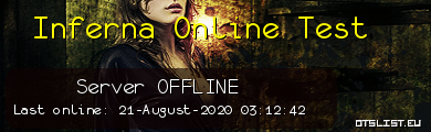 Inferna Online Test
