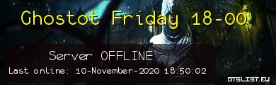 Ghostot Friday 18-00