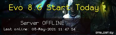 Evo 8.6 Start Today