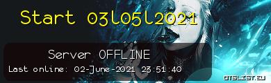 Start 03l05l2021