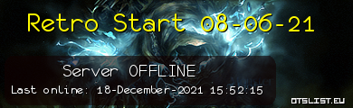 Retro Start 08-06-21