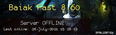 Baiak Fast 8.60