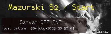 Mazurski S2 - Start