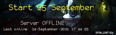 Start 25 September
