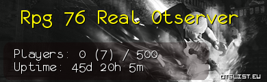 Rpg 76 Real Otserver